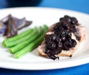 Savory Blueberry Compote