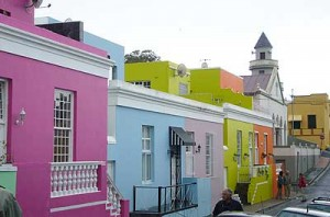 Bo-Kaap, the Cape Malay quarter of South Africa