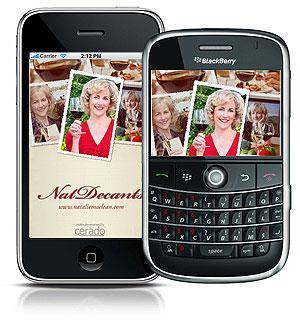 Nat Decants Smartphone App