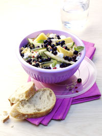 Quinoa Salad with Wild Blueberries