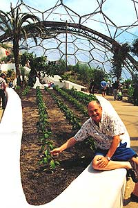 Dave at Eden Project
