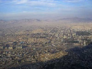 a view of Kabul