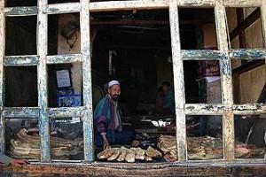 Modern-day bakery in Kabul