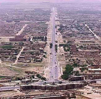Modern Kabul, Afghanistan