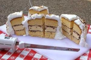 BBQ Ice Cream Cake