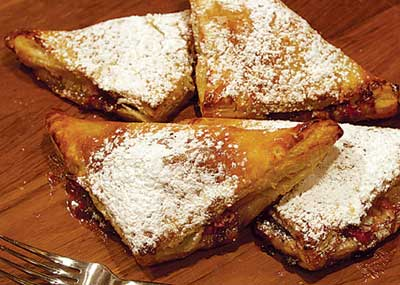 Barbecued turnovers