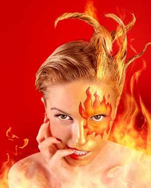 Fiery Facials