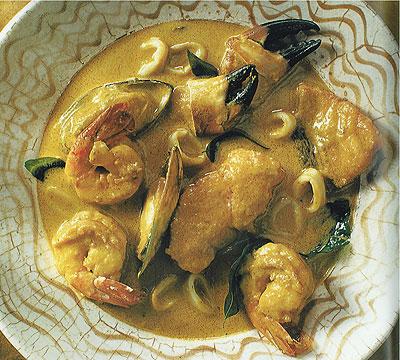 Curried Seafood Stew