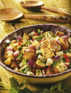 Warm Southwestern Potato Salad