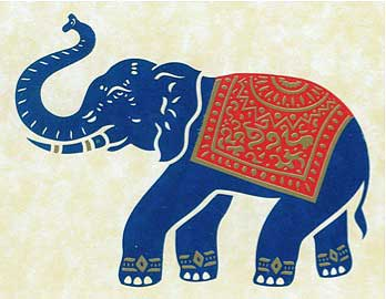 Thai Blue Elephant