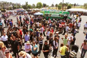 Throngs of the curious attended the OC Foodie Fest
