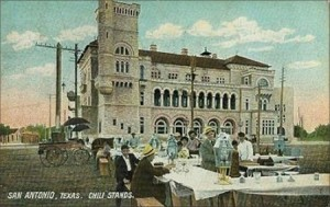 Chili Stand Postcard, 1908