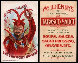Victorian Tabasco Box, 1900