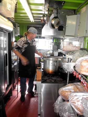Ralph in his kitchen