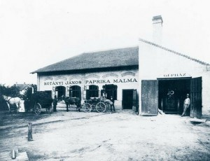 Janos Paprika Warehouse, 1910