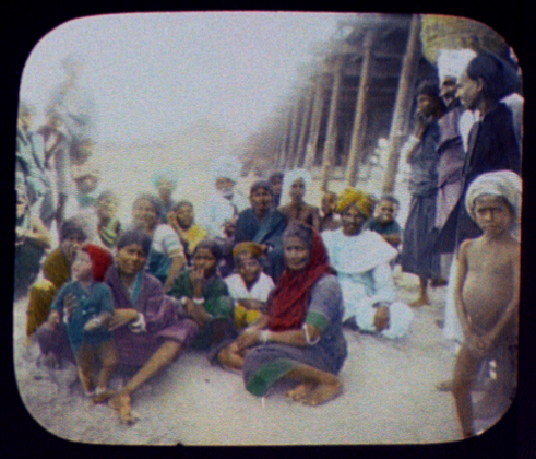 Madras Group of Tamil Natives at the Pier