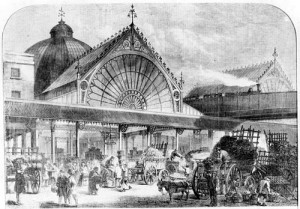 Borough Market, London, 1860