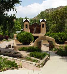 The famous church at Chimayo