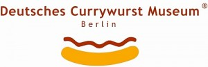 Logo of the German Currywurst Museum in Berlin