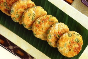Curried fish patties