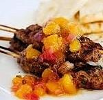 Beef Kebabs Tropicale