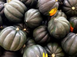 Blistering Baked Squash with Bombastic Blueberries