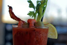Bloody Mary with Jalapeno Wine