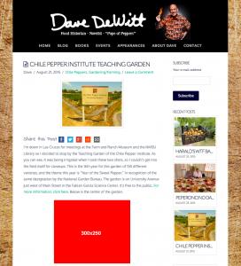 Dave DeWitt Web Ads