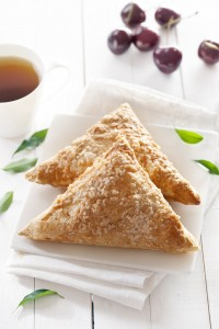 Cream Cheese, Chocolate and Jam Turnovers