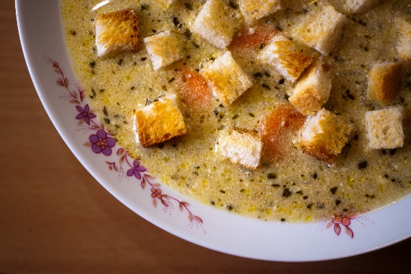 Rancho Aurora Garlic Soup