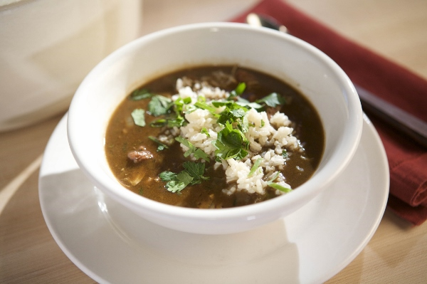 Emeril Lagasse's Deer and Andouille Sausage Gumbo (600x399)