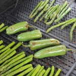 Grilled Asparagus and Peppers