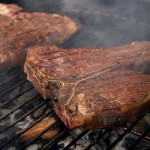 Grilled Porterhouse Steaks