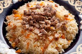 Kabuli Pulao (Lamb and Rice)