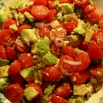 Perfectly Pungent Avocado-Tomato Salad