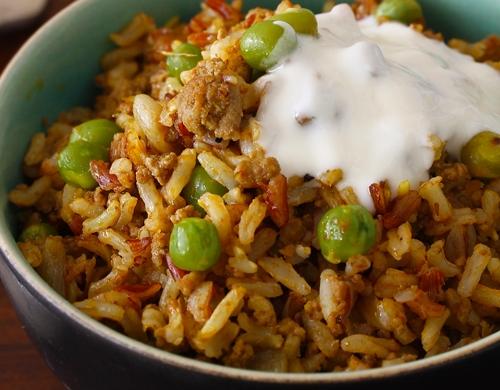 Saulan (Vegetable and Rice Sauce)
