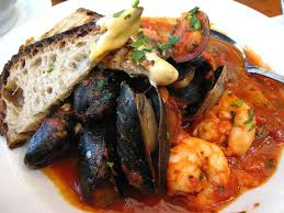 Cassoulet de Fruits de Mer (Curried Seafood Stew)