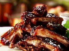 Sherried Pork Spareribs