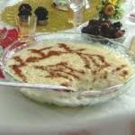 Shir Birinj (Rice Pudding)
