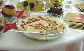 Shir Birinj (Rice Pudding)
