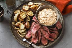 Steaks with Chipotle Potatoes