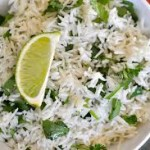Yelemecam Sadam (Lime Rice)