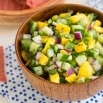 cucumber mango salsa recipe
