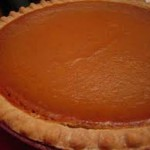 Maple Smoked Pumpkin Pie
