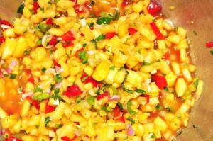 Grilled Pineapple Chipotle Salsa | Fiery Foods & Barbecue Central