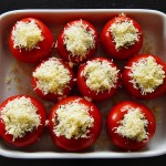 Mike's Zucchini-Stuffed Roasted Tomatoes