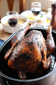 Herb-Scented Roast Turkey from Nereto