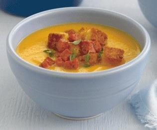 pumpkin bisque soup
