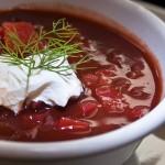 Spicy Beet Borscht