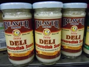 bottled horseradish